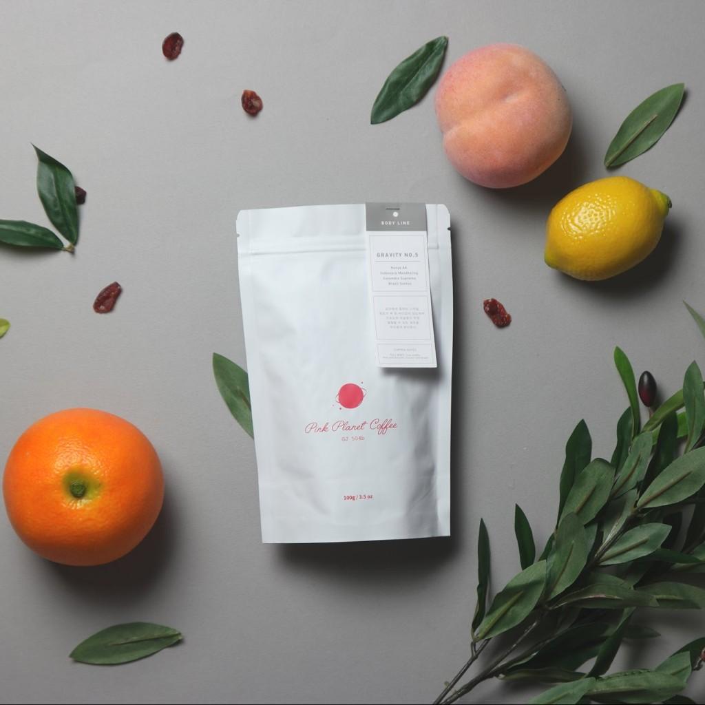 블랜딩 원두 커피 제대로 즐기기 … 핑크플래닛 커피 Gravity Line